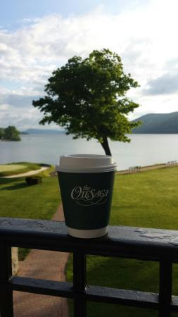 The Otesaga Resort Hotel: Views from the veranda
