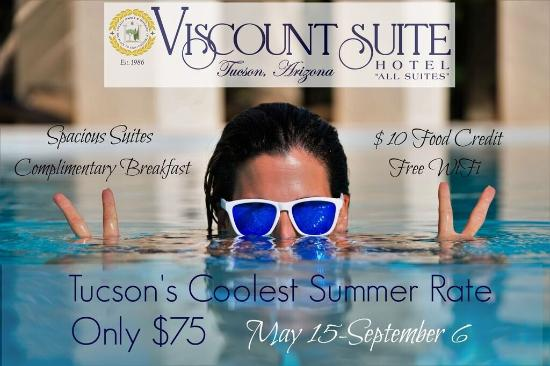 Viscount Suite Hotel: Coolest Summer Stay