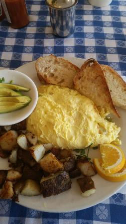 New Morning Cafe: Crab scramble