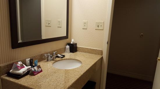 Crowne Plaza Annapolis: Sink