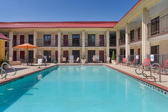 Red Roof Inn & Suites Addison: Pool