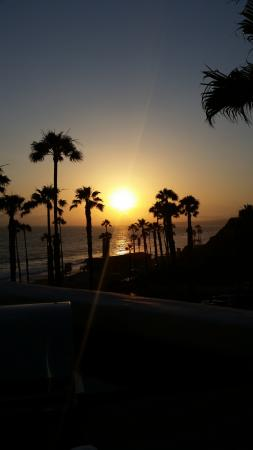 San Clemente, CA: Sunset from our balcony