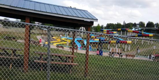 Township of Whitewater Region, Canada: Water slide