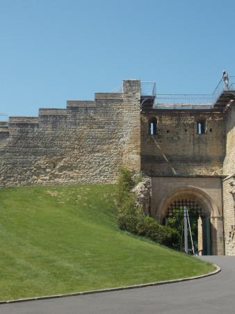 Lincoln Castle Inside