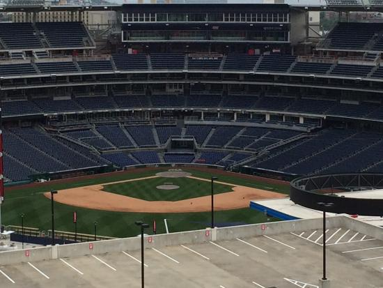 Rooftop Restaurant View Of Nationals Stadium Picture Of