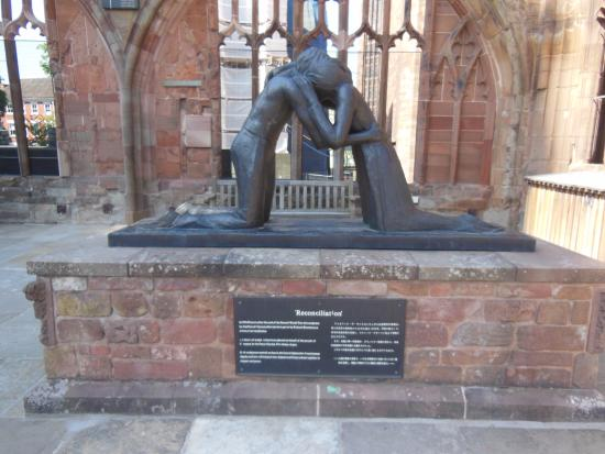 Coventry, UK: A reconciliation sculpture.