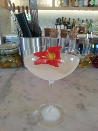 South Dartmouth, MA: Fresh Tito Vodka fusion cocktails with edible flowers