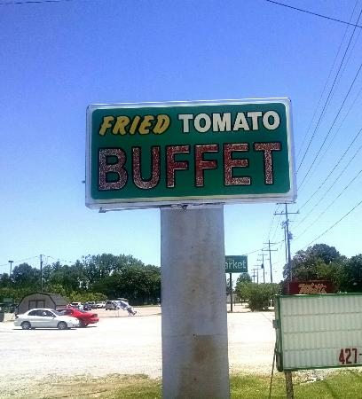 Ardmore, Теннесси: Fried Tomato Buffet
