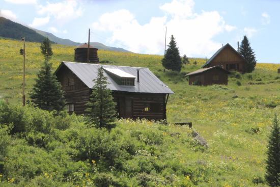 Schofield Pass : Homes up on Scholfield Pass