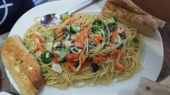 Vegetable Primavera Pasta Picture Of California Pizza