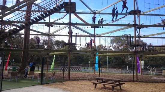 BIG4 Inverloch Holiday Park: High ropes on Phillip Island