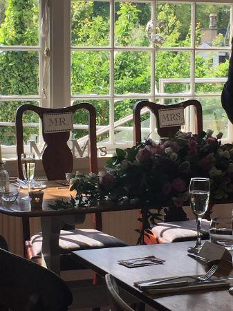 The Bridge Inn: Preparations made for the Bride & Groom