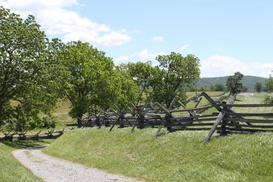 Sharpsburg, MD: Sunken Road from where Union soldiers were slaughtered
