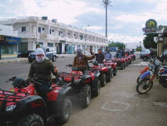 South Sinai, Egypten: Beach buggy trip