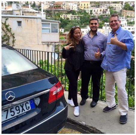 Positano Travelling: Touring Amalfi Coast with our awesome driver, Fabio!