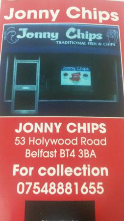‪‪Sydenham‬, UK: Jonny Chips‬