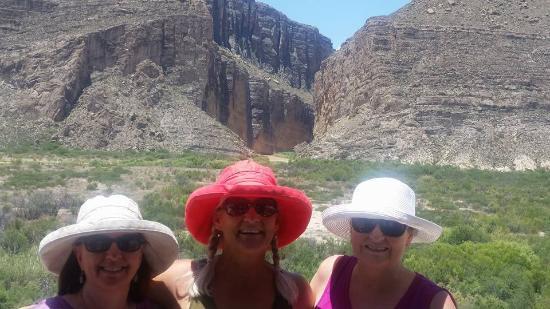 Alpine, TX: Santa Elena Canyon (Mexico on left, US on right)