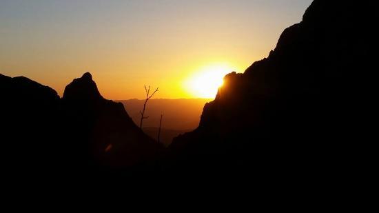 "Alpine, TX: ""The Window"" at sunset"