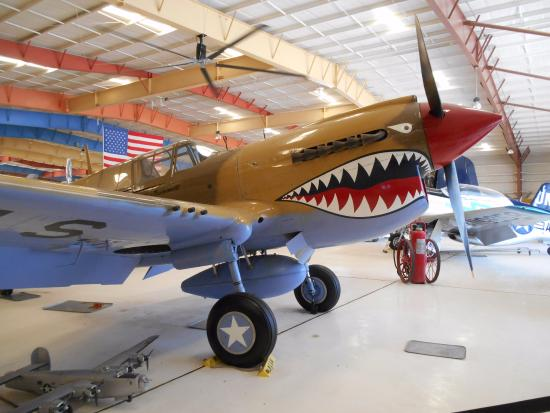 Santa Teresa, Nuevo Mexico: One of the planes....