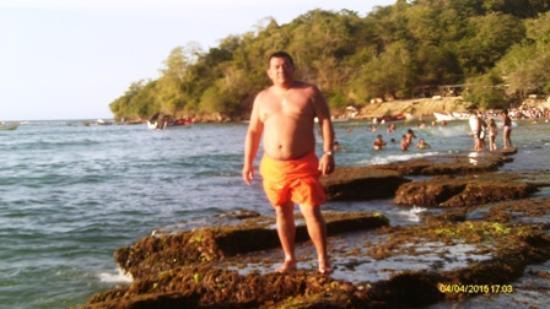 Chuspa, Βενεζουέλα: Disfrutando en Playa Caribe