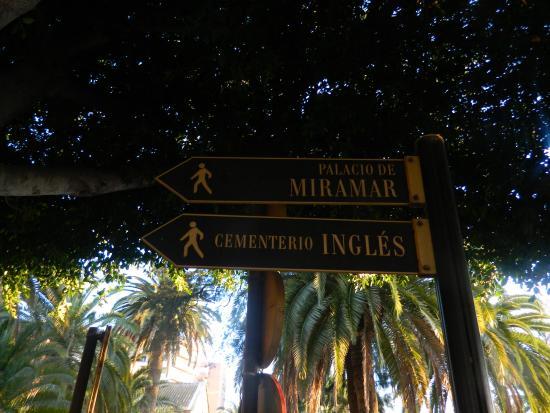Malaga, WA: Cartel indicativo