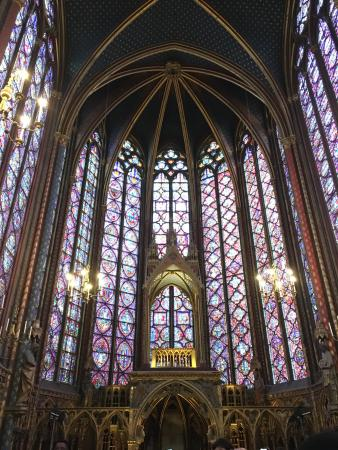 Paris, France: Stained Glass