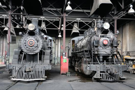 Engines In The Machine Shop Picture Of Nevada Northern Railway Museum Ely Tripadvisor