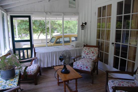 Hawthorne, FL: Porch