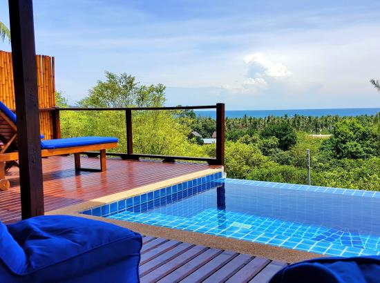 The Place Luxury Boutique Villas: Sea view