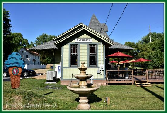 Barberton, OH: The Erie Depot is now open for business. Ice Cream & sandwiches.