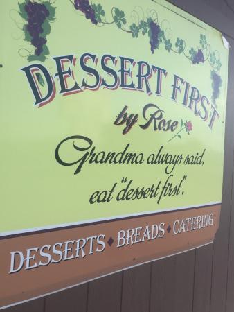 Dessert First by Rose