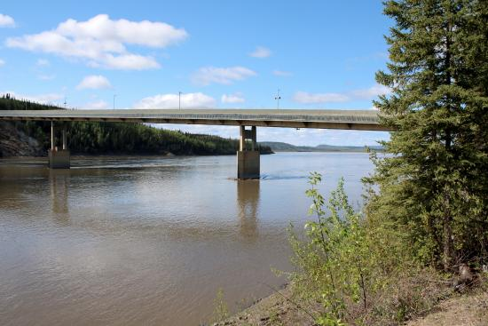 Image result for image of yukon river bridge