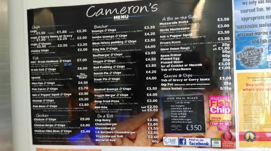 Camerons Chip Shop Photo