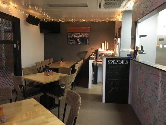 Siracusa Pizza Pasta Cafe : New look!!!!
