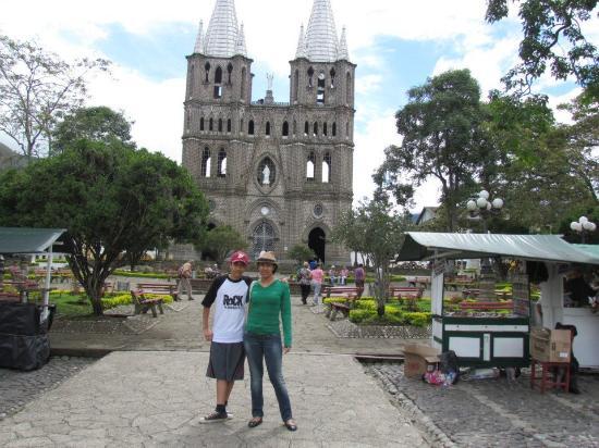 Jardin, Κολομβία: Vista desde el parque.