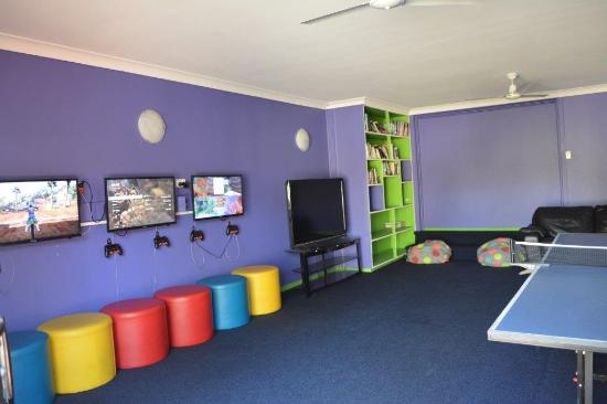 Point Vernon Holiday Park Big 4: Games Room