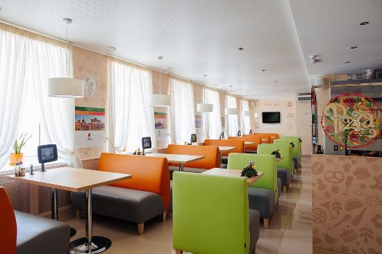 Aurora Hotel: Зал для шведского стола