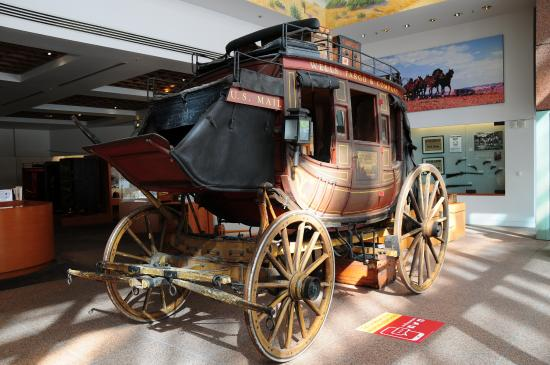Wells Fargo History Museum : A real stagecoach