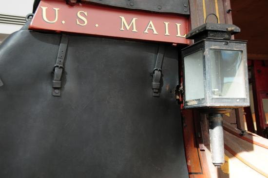 Wells Fargo History Museum : Stagecoach mail bag