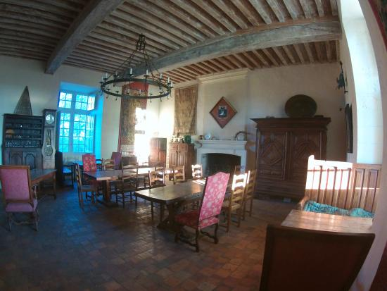 Saint-Astier, Frankrike: salle petit déjeuner