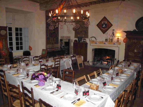 Saint-Astier, Frankrike: salle à manger