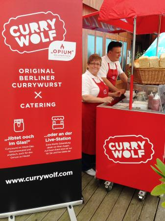 berliner currywurst catering picture of curry wolf ku damm berlin