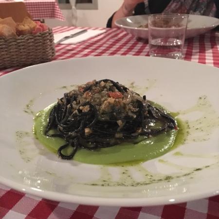 Castellucchio, Włochy: spaghetti