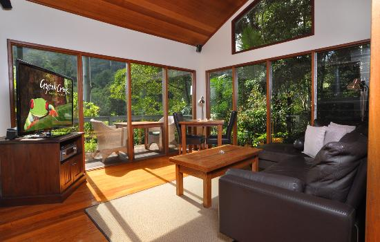 Upper Crystal Creek, Avustralya: Rainforest Canopy Bungalow
