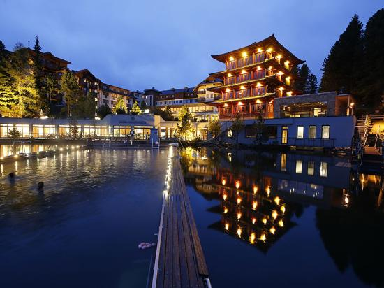 Das Hotel Hochschober auf der Turracher Höhe zählt zu den besten Wellnesshotels in Österreich