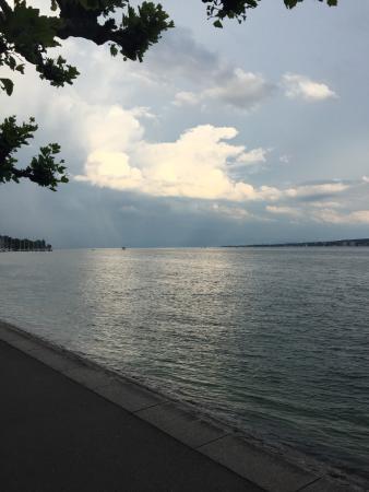 Hotel Villa Barleben am See : Stimmung am Bodensee bei der Villa
