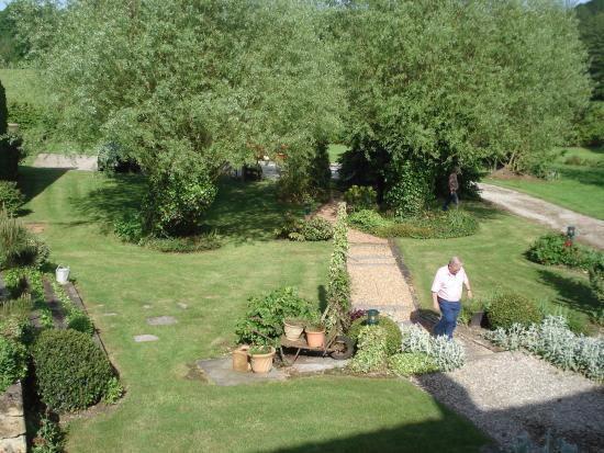 Boece, France: vue depuis les chambres