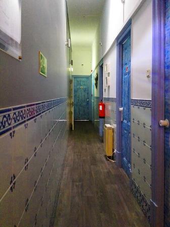 Guest House São Filipe : Corridor