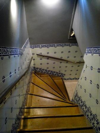 Guest House São Filipe : Stair