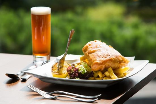 The Plough Inn: Fish & Chips Main meal